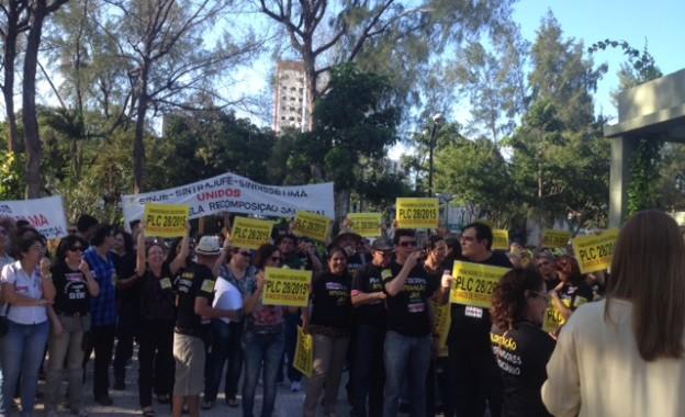 Servidores do TRT no Ceará intensificam trabalho junto aos deputados e senadores pela derrubada do veto ao PCL 28/2015