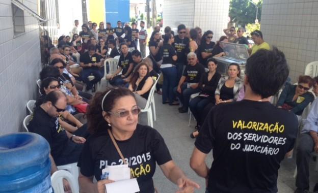 TRT no Ceará articula apoio da bancada cearense no Congresso à derrubada do veto ao PLC 28\15