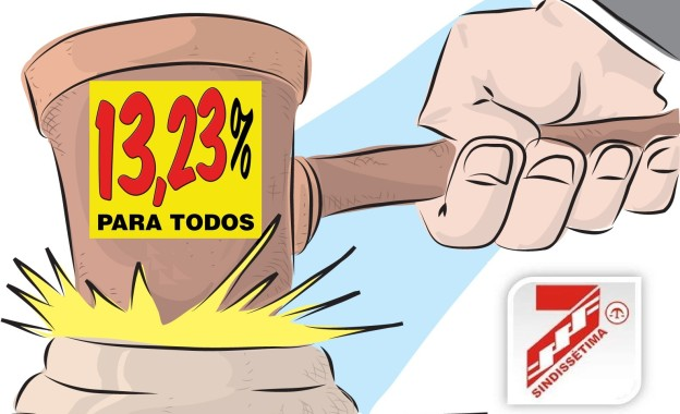 13,23%: Sindissétima protocola pedido de providências no CSJT e visita gabinetes do TRT 7