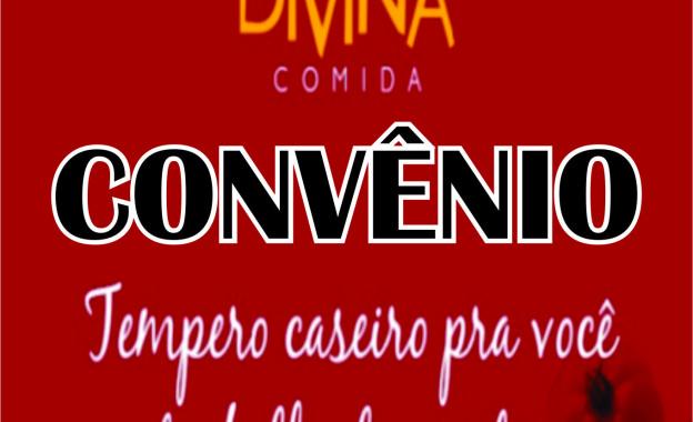 Sindissétima fecha convênio com o Restaurante Divina Comida