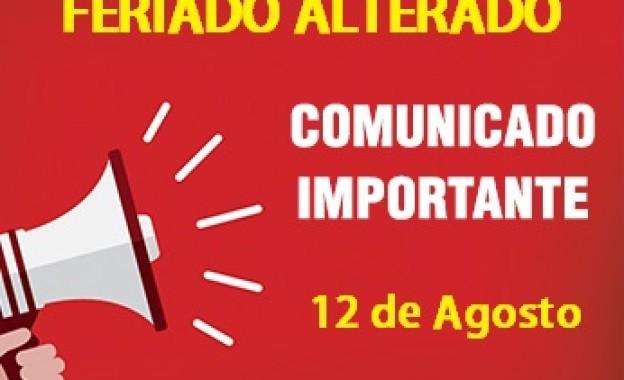 Sindissétima interpõe pedido administrativo e feriado do dia 11 de agosto é alterado