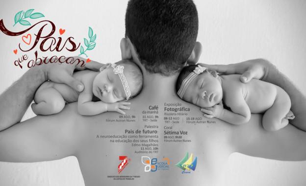 Homenagem ao Dia dos Pais no Fórum Autran Nunes