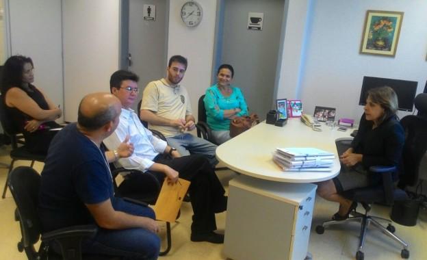 Diretoria do Sindissétima se Reúne com a Juíza Diretora do Fórum Autran Nunes e Conquista Soluções para a Questão do Registro do Ponto na Entrada