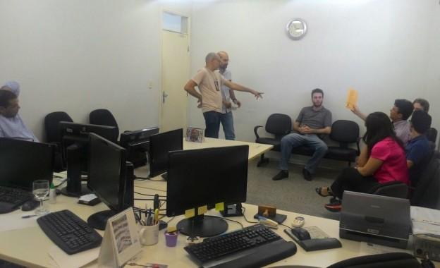Diretoria do Sindissétima Visita Servidores das Varas Trabalhistas de Caucaia: A Vida Após o Assalto