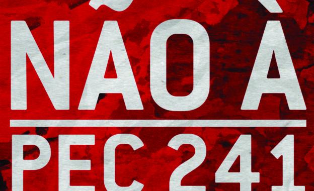 Luta contra a PEC 241: Compareça ao Aeroporto de Fortaleza neste domingo (23/10)!