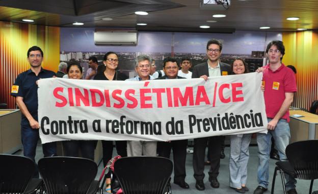Sindissétima participa do Seminário sobre a Reforma da Previdência Realizado na Assembleia Legislativa do Ceará