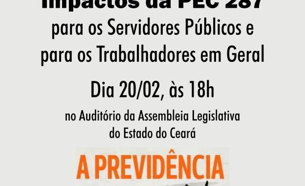 Compareça ao Seminário sobre a Reforma da Previdência, dia 20/02, 18h!
