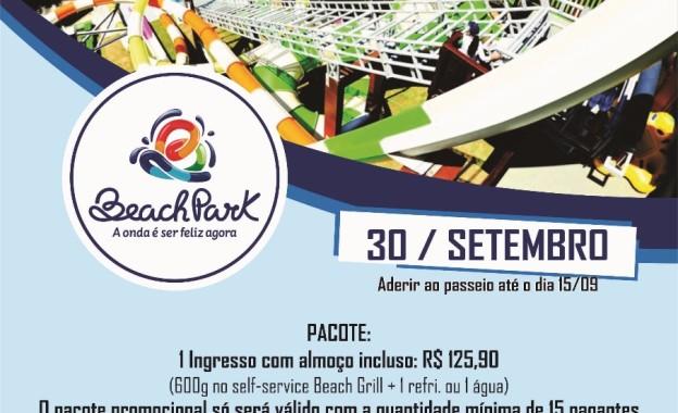 Sindissétima Oferece Até 15/09 Pacote Promocional para Passeio ao Beach Park no Dia 30/09! Não perca!