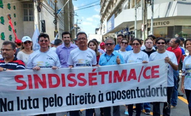 Confira Fotos da Participação do Sindissétima na Paralisação Geral do Dia 05/12